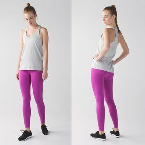 Lululemon Pink Seamless High Rise Zone In Tights
